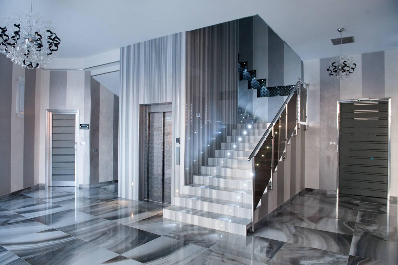 Semastone design – Scale in marmo 01